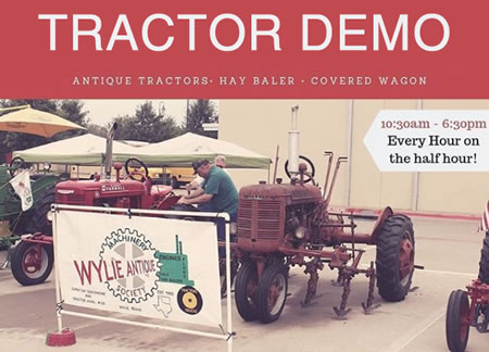 Tractor Demo